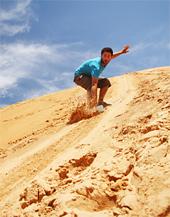 Sport im Wüstensand